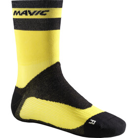 Mavic Ksyrium Pro Thermo+ Socks yellow/black